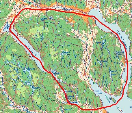 drammen kart EDS   Elgregion Drammen Sør drammen kart